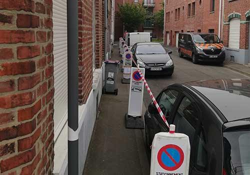 Balise stationnement interdit Panoloc Lille