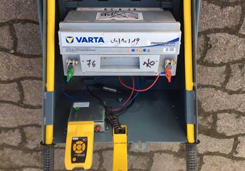 Batterie pour feux de chantier Panoloc