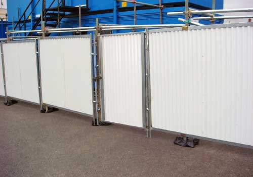 Portail barde 1m protection barrierage Panoloc