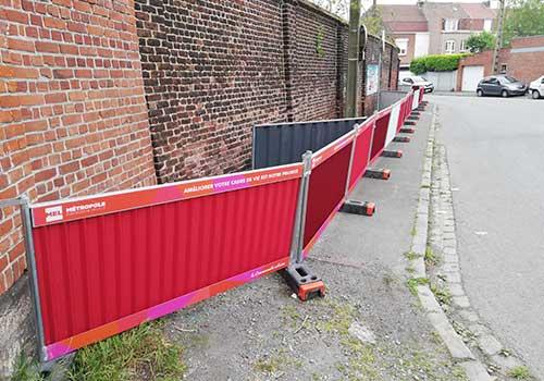 barriere MEL Lilloise en situation Panoloc