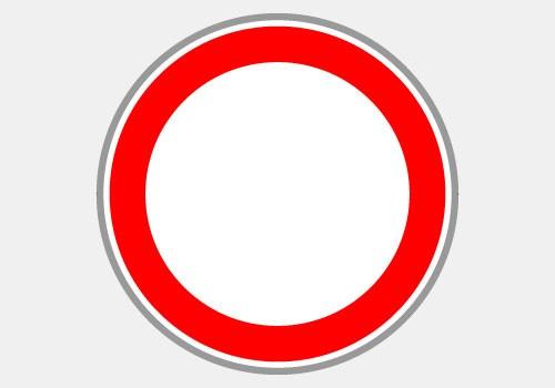 Circulation interdite BK0 Panoloc signalisation de chantier