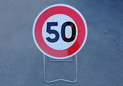 Vitesse limitee a 50km h BK14 50 Panoloc wambrechies