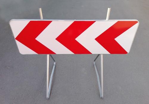 panneau signalisation fleches rouge blanc K8 panoloc paris