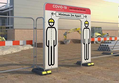 Barriere et cloture de securite Covid-19 Panoloc Douai Calais